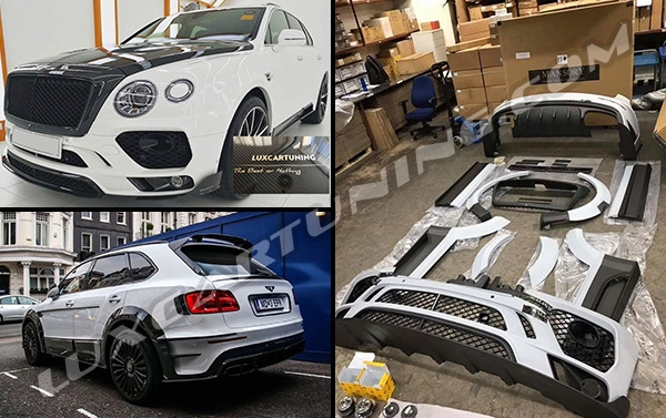Mansory style full carbon wide body kit for Your Bentley Bentayga:
