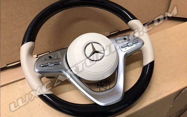 Maybach S560/S650 X222 facelift steering wheel for Your Mercedes Benz S class W222 and Maybach S600/560 X222.