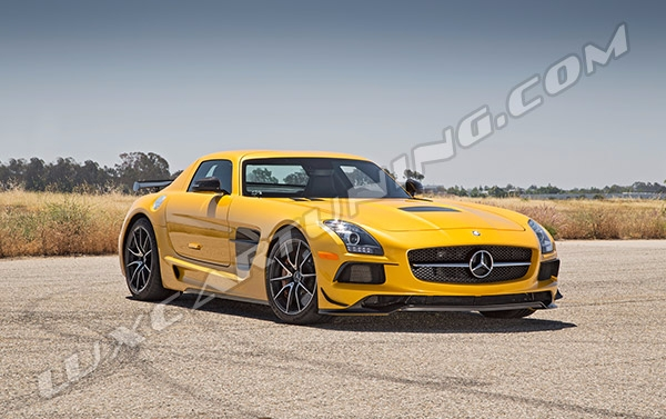 Mercedes SLS AMG Black Series-style body kit