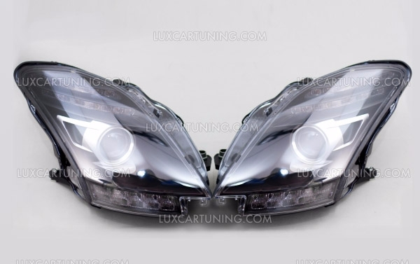 Original Black Series headlights for Mercedes Benz SLS 63 AMG C197