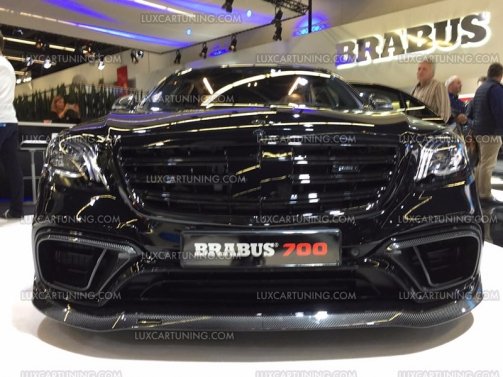Luxcartuning Com Spare Parts And Accessories Original Brabus 700 Carbon Fiber Body Kit For