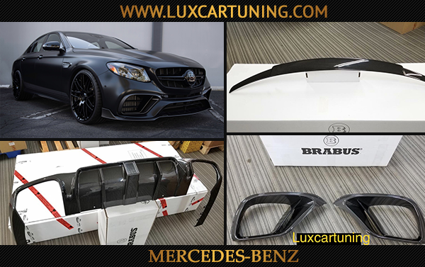 Original BRABUS body kit for Your Mercedes Benz E63 AMG: