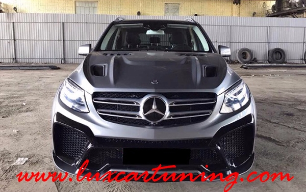 Present You exclusive body kit RENEGADE for Your Mercedes Benz GLE W166