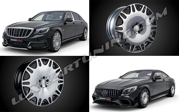 R21 Brabus Monoblock M forged wheels 2018MY for Mercedes Benz S coupe C217, S class W222, Maybach X222. Soon in @luxcartuning_official.