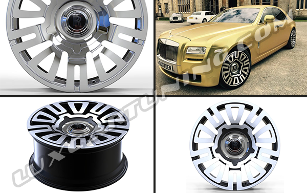 R21 forged wheels for Rolls Royce Wraith and Ghost!