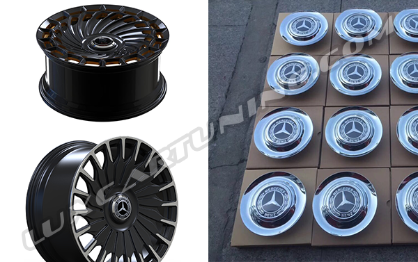 R21, R22 and R23 Exclusive forged wheels (chrome, black mat, black glossy or any favorite color) for any models of: