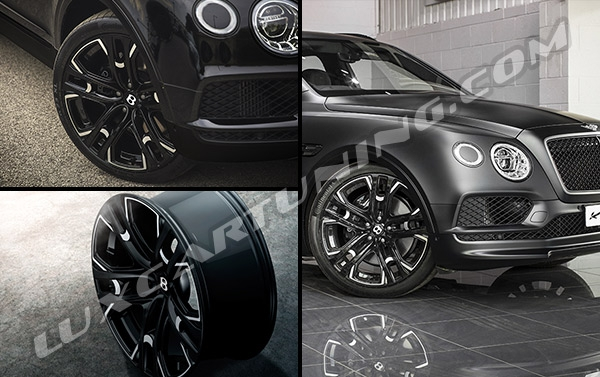 R23 original Kahn Le-Mans wheels for Bentley Bentayga.