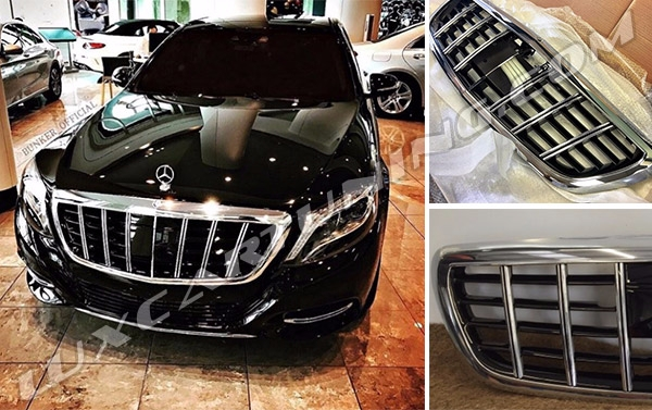 Radiator Grill Brabus Maybach for Mercedes S class W222 and Maybach S600 X222