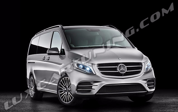 Sport package AMG LINE conversion kit for Your Mercedes Benz V class W447: