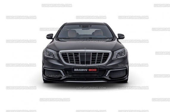 Luxcartuning Com Maybach Vertical Grill Brabus Maybach