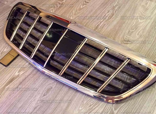 Maybach vertical radiator grill brabus for Mercedes benz warehouse jobs