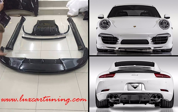 Vorsteiner style carbon fiber body kit for Your Porsche 911