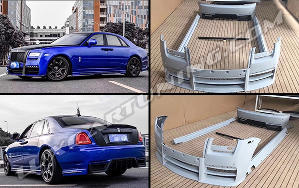 Wald body kit for Rolls Royce Ghost: