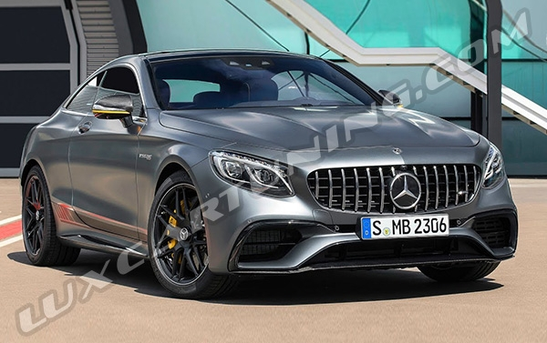 YELLOW NIGHT EDITION / LuxCarTuning offer you Yellow Night Edition carbon package or full S63 Coupe facelift for Mercedes Benz S coupe C217: