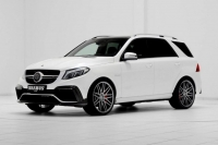 Brabus 850 charged on the basis of Mercedes-AMG GLE63