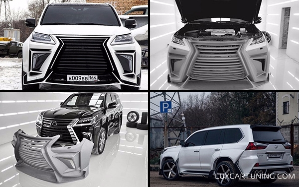 Special Price EXCLUSIVE body kit VERGE for LEXUS LX 570 up to 2016
