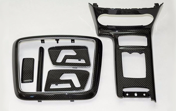 Interior elements by carbon for Mercedes Benz G class W463
