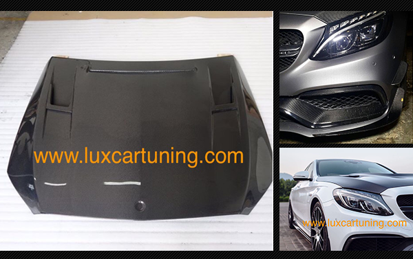 Carbon fiber hood 63 AMG for Mercedes Benz C class W205