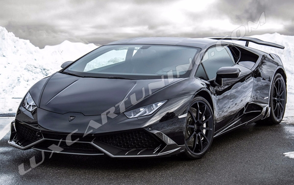 Full carbon fiber body kit MANSORY MH1 for Lamborghini Huracan