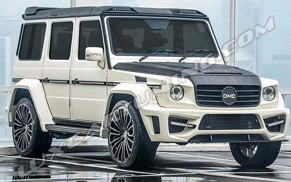 Full carbon body kit DMC ZEUS G63 AMG for Mercedes Benz G class W463