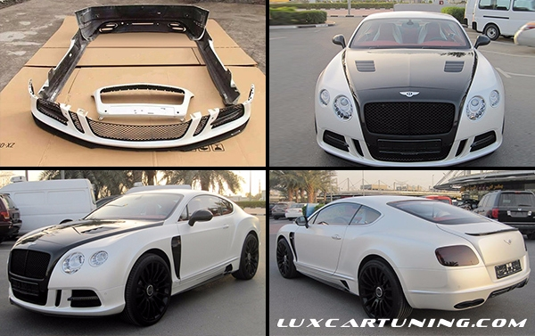 Full Body kit Mansory for Bentley Continental GT2