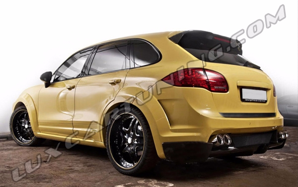 Full body kit MET-R for Porsche Cayenne 958