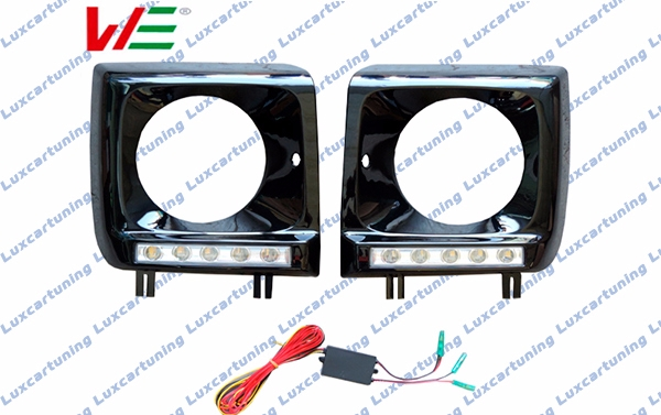 Headlights frames with LED for Mercedes Benz G class W461, W462, W463