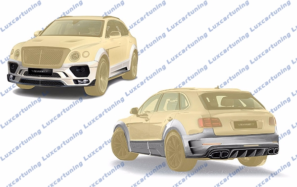 Full body kit Mansory(original) for Bentley Bentayga