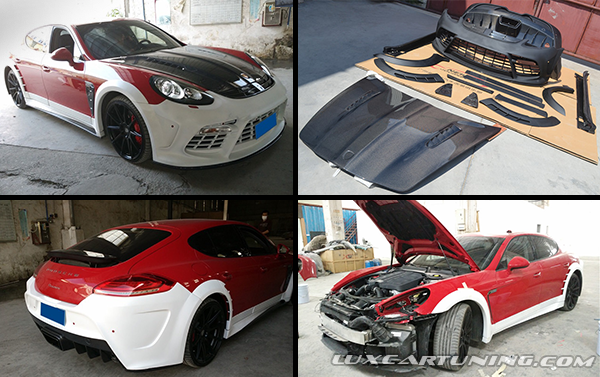 Full body kit Mansory (copy1) for Porsche Panamera up to 2014 model