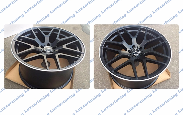 21 inch rims 63 AMG with different and same sizes front and rear for Mercedes Benz GLE coupe W292 and GLE