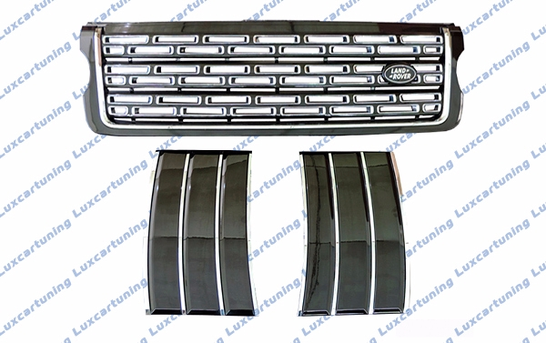 Grill set Autobiography for Range Rover Vogue after 2013 model