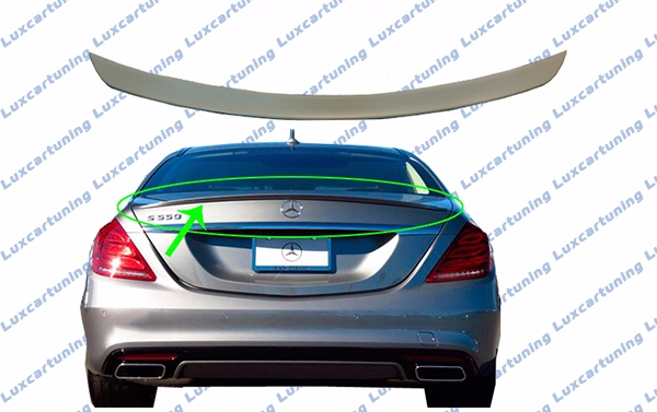 Trunk spoiler AMG edition for Mercedes Benz S class W222