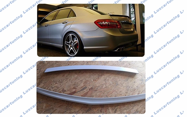 Spoilers-wings 63 AMG for diki and rear glass for Mercedes Benz E class W212