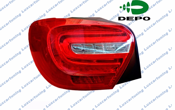 Rear taillights DEPO in AMG edition style for Mercedes Benz A class W176