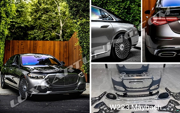 2021MY upgrade body kit assembly MAYBACH for Mercedes Benz S class W223.