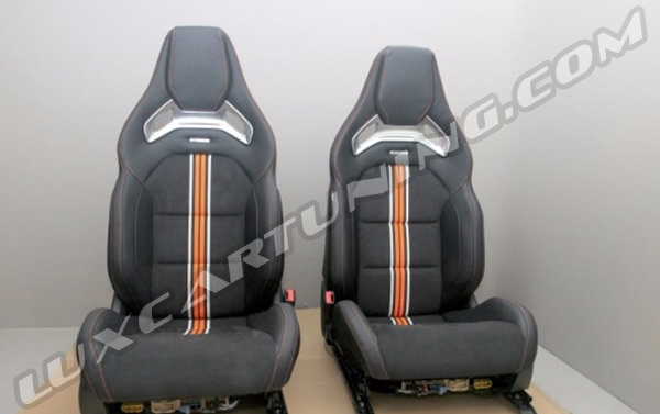 63 AMG front seats with all control units set for Your Mercedes Benz C class W205.