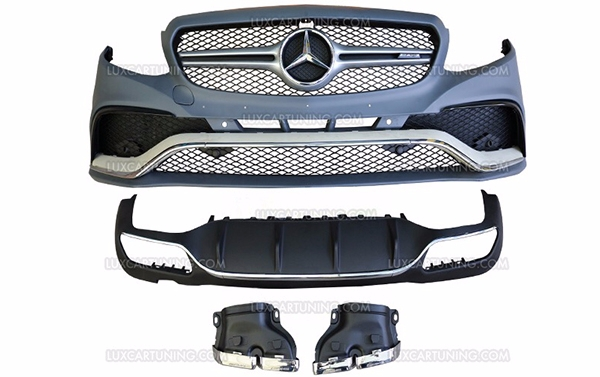 63 AMG full body kit to convert Your Mercedes Benz E 200-500 to 63 AMG: