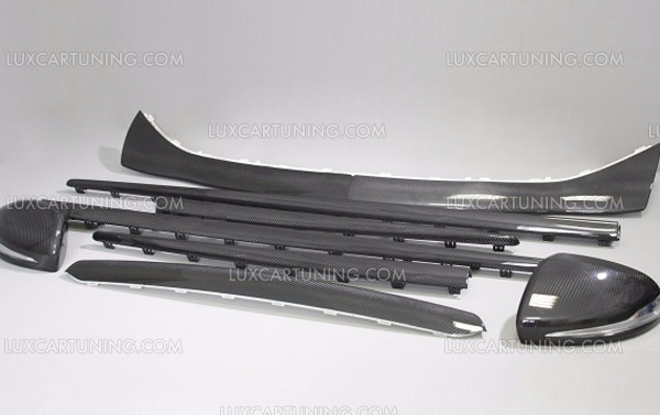 AMG Exterior Aerodinamic Carbon Trims For Mercedes Benz S63/65 W222