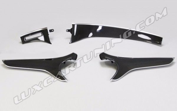AMG OEM interior carbon trims set for Mercedes Benz S coupe W217