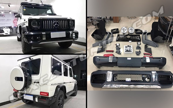 Available in stock | Convert your Mercedes Benz G class 2002-17 to 2019 model: