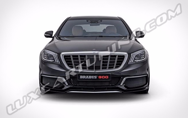 Luxcartuning Com Spare Parts And Accessories Brabus 900 Full Body Kit For Maybach S560 600 650