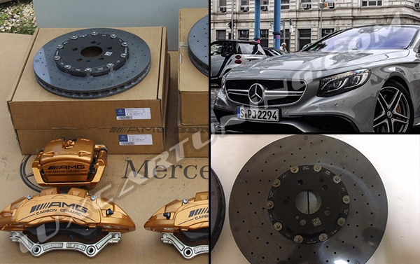 Carbon ceramic brake system set for Your Mercedes Benz S Coupe C217