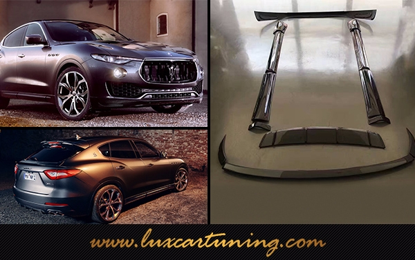 Carbon fiber body kit Novitec style for Your Maserati Levante