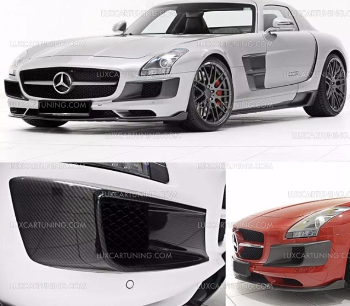 Spare parts and accessories carbon for Mercedes benz c300 turbo kit