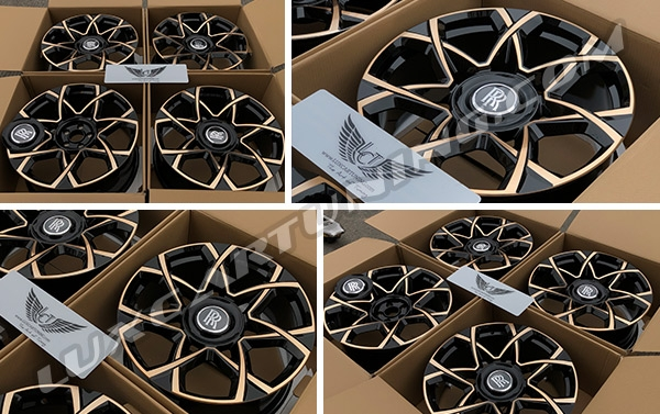 Dear friends, we are manufacturing the best monoblock forged wheels R18-26 sizes, with 1:1 correct sizes for each models cars, with USA and Japan made billets, with 5 years warranty and free worldwide shipping.