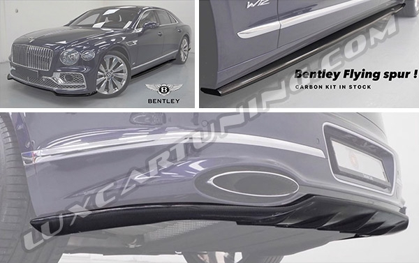 Edition One carbon fiber exterior soft package for Bentley Continental Flying Spur.
