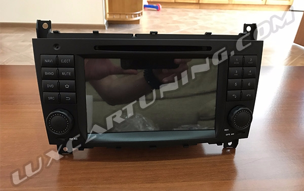 Entertainment: DVD, MP3, MP4, CD, USB, Phone, Bluetooth, WiFi, Touch Screen monitor system for Mercedes Benz G class W463 2008-12 models