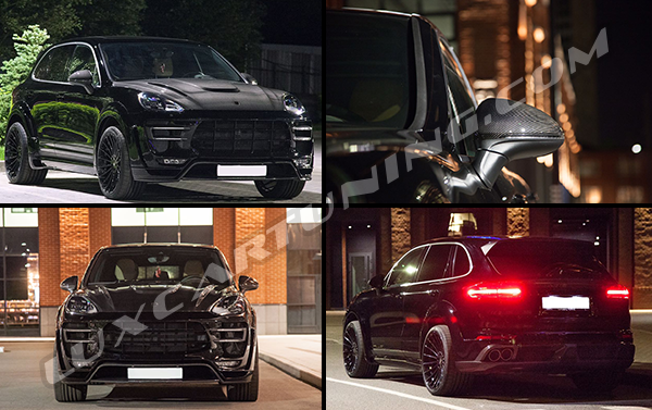 Exclusive | Imperial Special body kit for Porsche Cayenne II series: