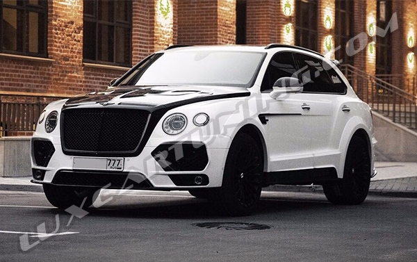 Exclusive Limited Edition full carbon wide body kit for Your Bentley Bentayga: