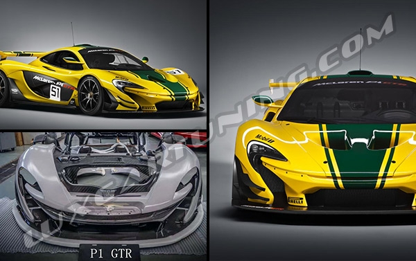 ✌️EXCLUSIVE✌️  Ultimate Series P1 GTR full body kit with carbon elements for McLaren.